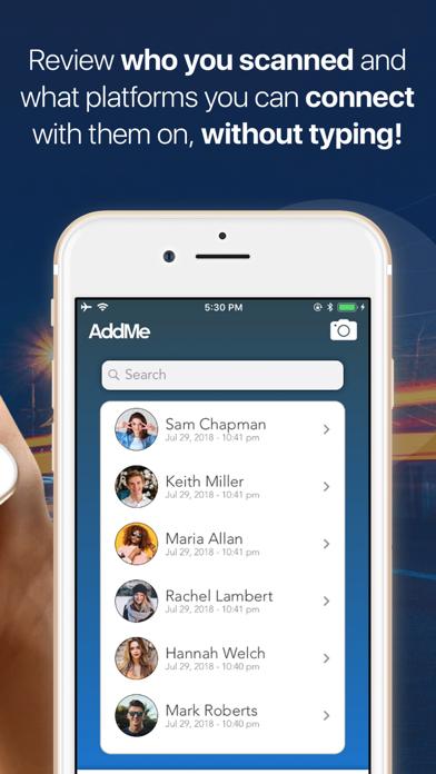 AddMe Screenshots