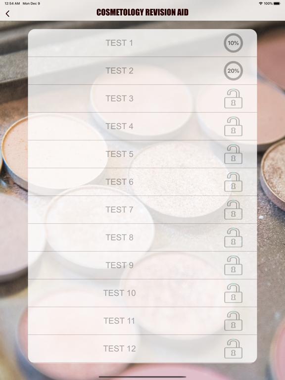 Cosmetology Exam Revision Aid screenshot 8