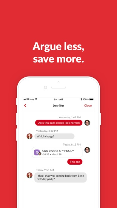 Honeydue: Couples Finance Screenshot