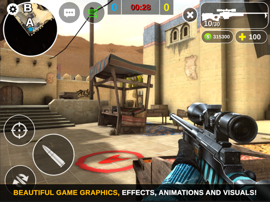 Игра Counter Attack Multiplayer FPS