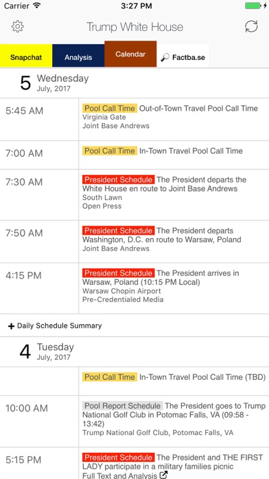 Trump White House Liv... screenshot1
