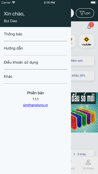 Download Sim số đẹp Sim Thăng Long for Android