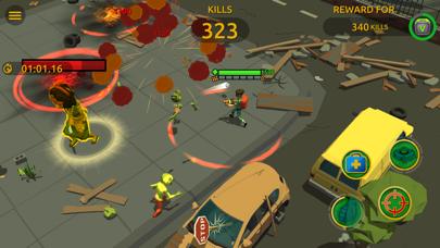 Zombie Blast Crew Screenshot on iOS