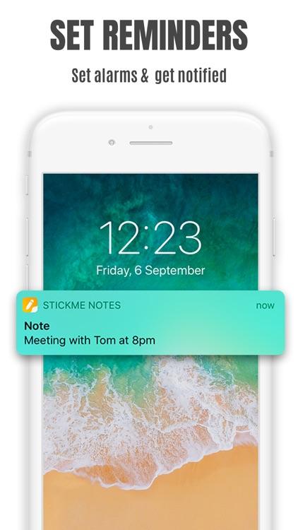 StickMe Notes Sticky Notes App screenshot-5