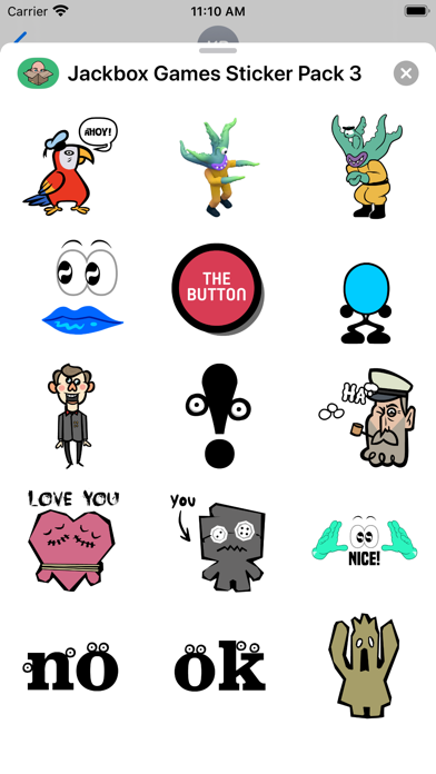 Jackbox Games Sticker Pack 3 screenshot 1