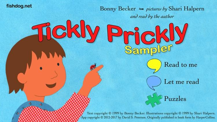 Tickly Prickly Sampler screenshot-3