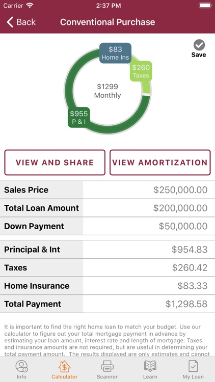 JCB Mortgage Calculator screenshot-3