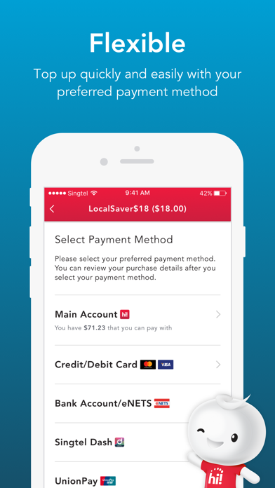Singtel Prepaid hi!Appのおすすめ画像4
