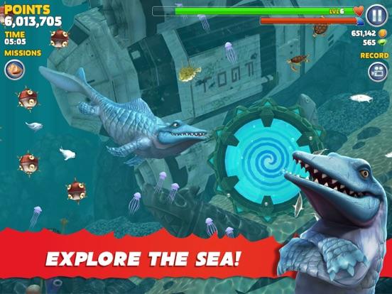 Hungry Shark Evolution-ipad-1
