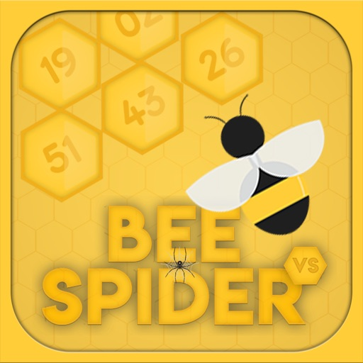 Honey Bee - Spider Puzzle Icon