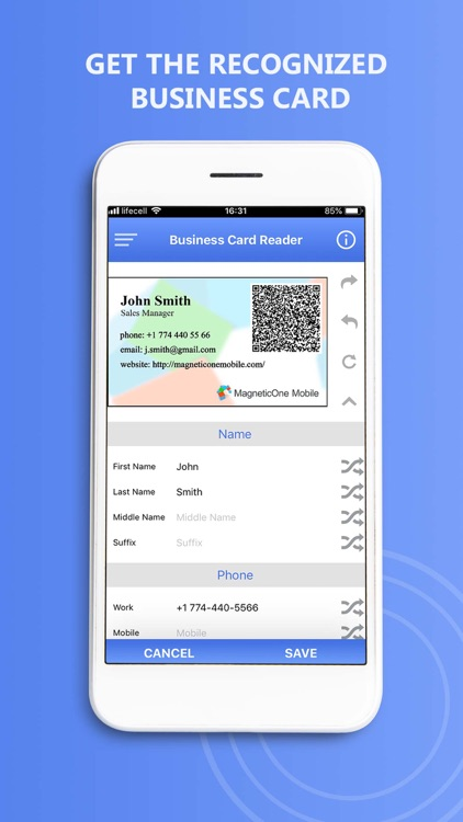 Biz Card Reader for Insightly screenshot-4