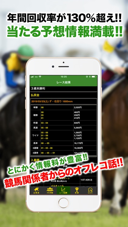 JRA競馬予想情報アプリ