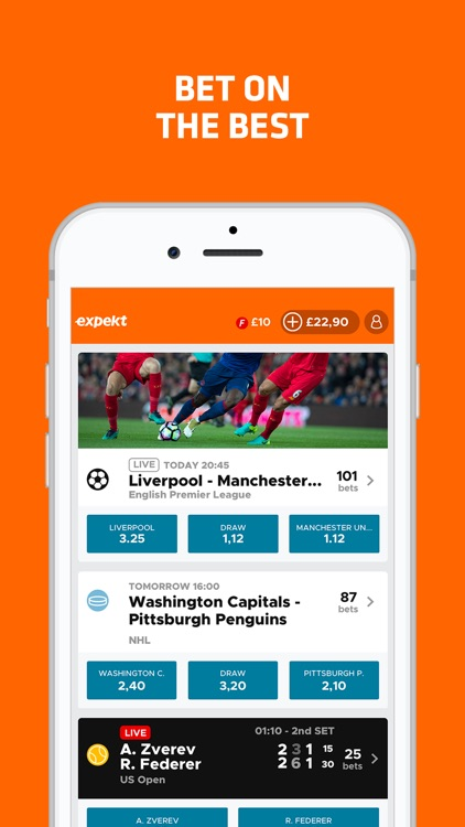 Expekt mobile betting games bet365 online sports betting