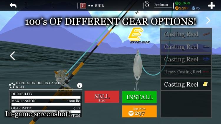 Boat & Fishing Game: uCaptain screenshot-8