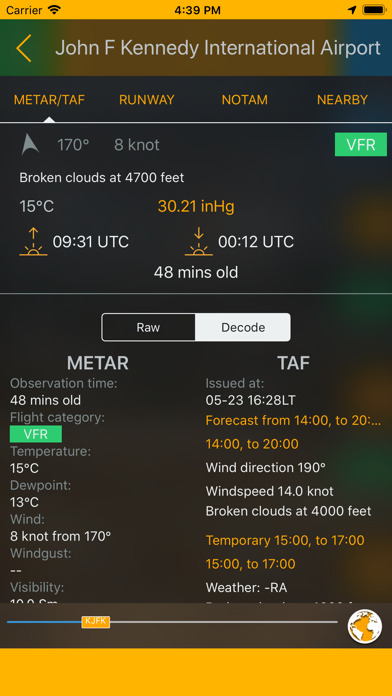 Easy Aviation Weather - WX Screenshot