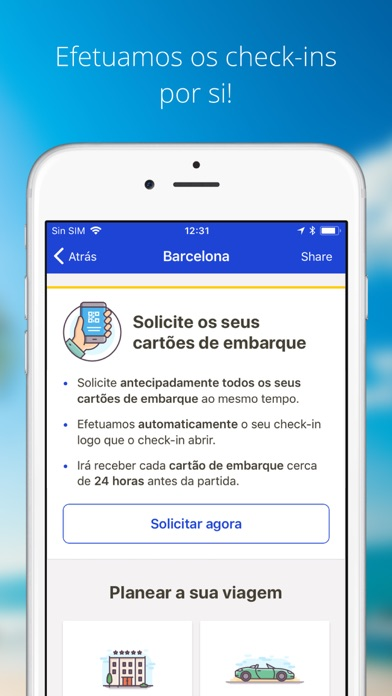 Screenshot for eDreams: Reserve Voos Baratos in Portugal App Store