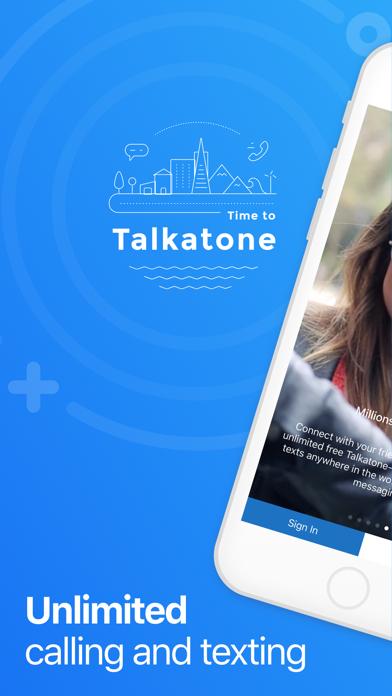 Talkatone review screenshots