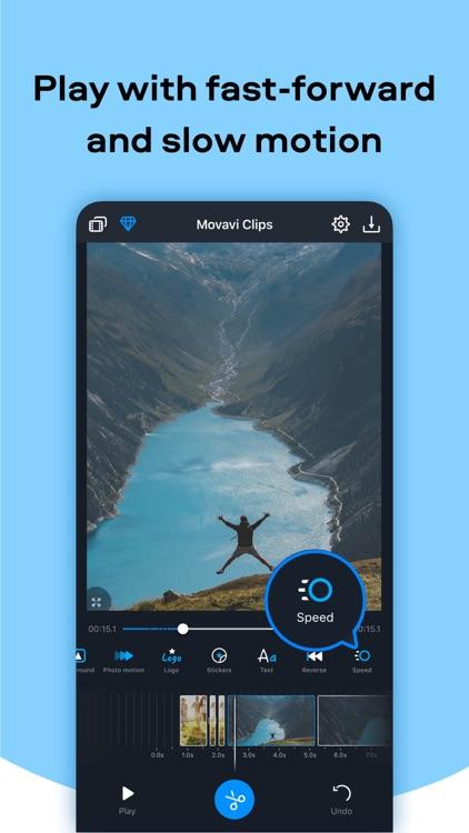 Movavi Clips Movie Editing App screenshot-5
