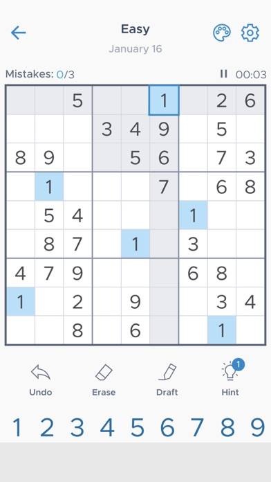 Sudoku Daily - Classic Puzzle screenshot 4