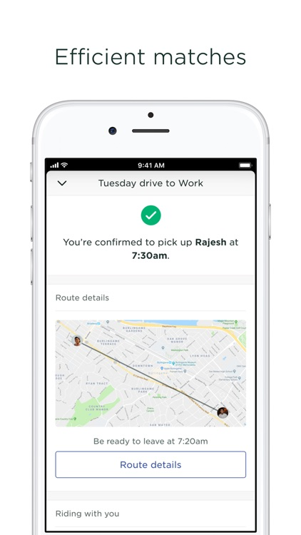 Scoop - Carpool w/ Co-Workers screenshot-4