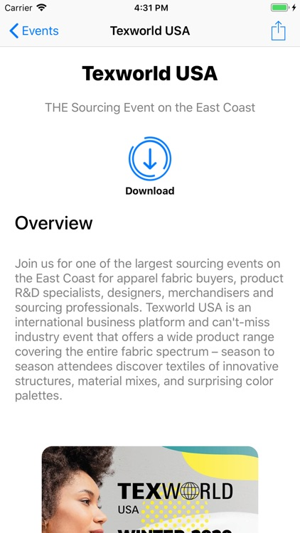 Texworld USA/Apparel Sourcing