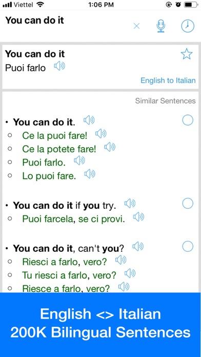 Italian Translator Offline Screenshot