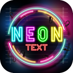 NEON Sign Photo Text Editor