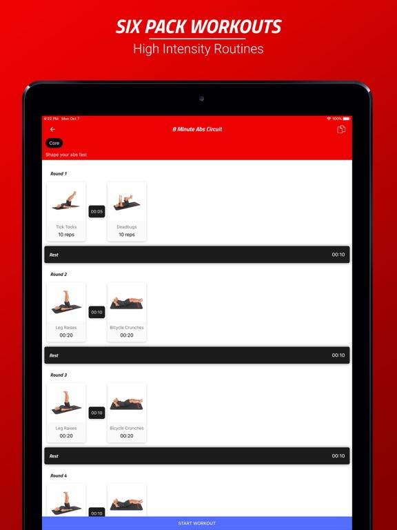 Six Pack Abs Workout Challenge Screenshots