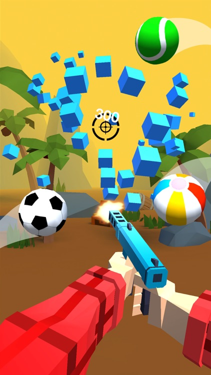 Shooting Hero-Block Gun Games screenshot-3