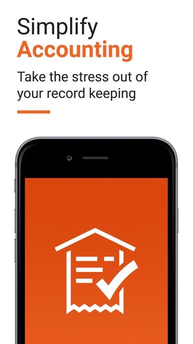 Receipt Bank Scanner & Tracker Screenshot