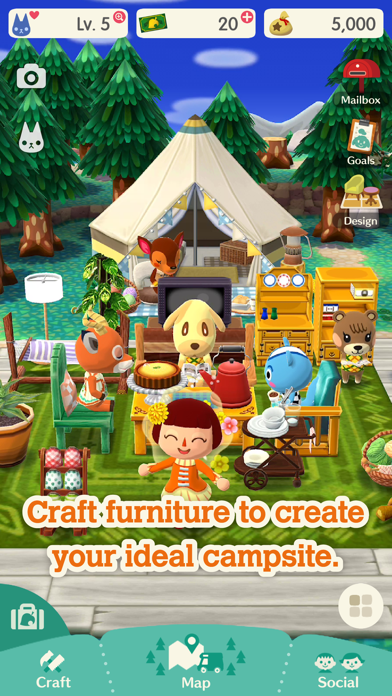 Animal Crossing: Pocket Camp for windows pc