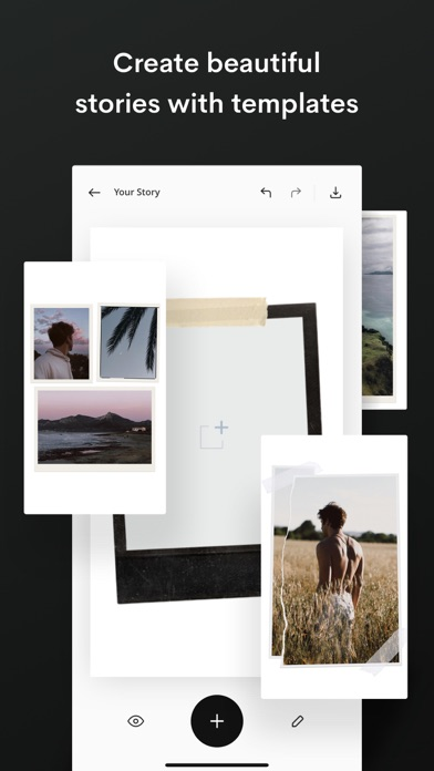 Unfold Story Templates review screenshots