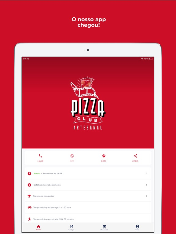 Pizza Club Artesanal screenshot 7