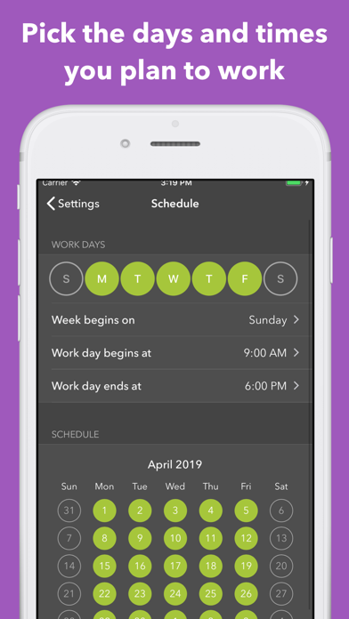 Manifest - Smart Time Tracking screenshot two