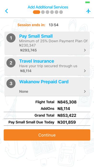 Wakanow Mobile screenshot 5