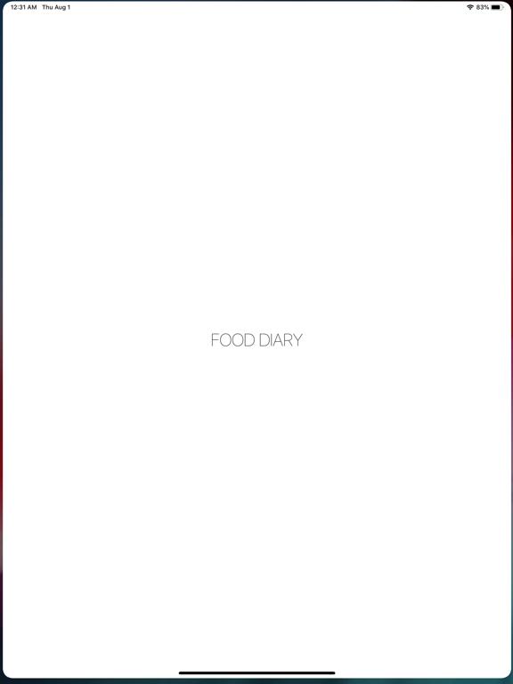 Food Diary - Photo & Story screenshot 4