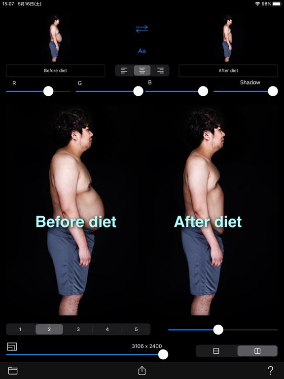 Before->After screenshot 9