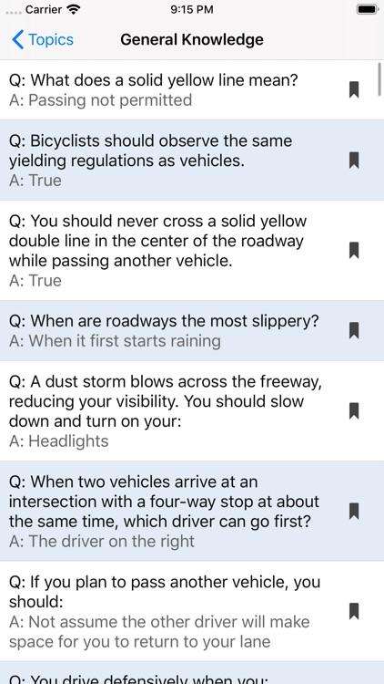 West Virginia DMV Test Prep screenshot-6