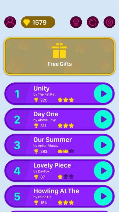 Beat Bouncing - Music Game Screenshot