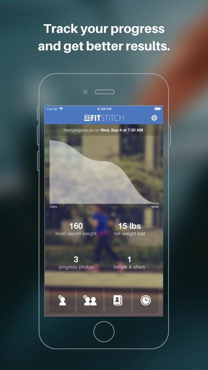 Fit-Stitch Progress Tracker