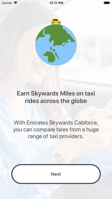 Emirates Skywards Cabforce screenshot four