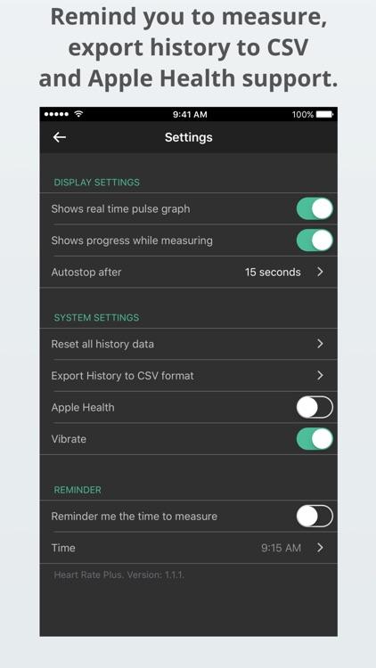 Heart Rate Plus: Pulse Monitor screenshot-3