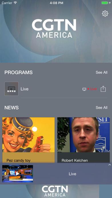 CGTN America screenshot one