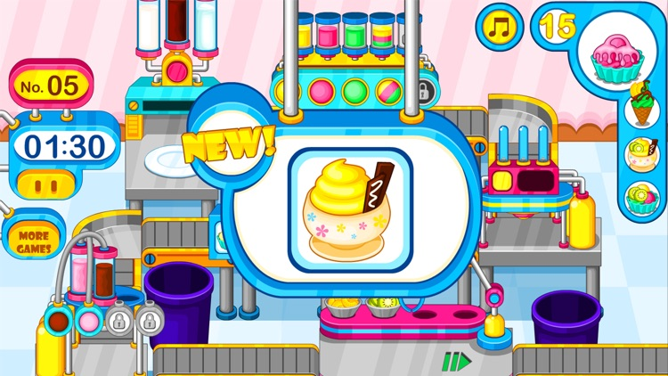 Cooking colorful ice cream screenshot-4