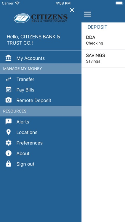 Citizens Bank & Trust KY App