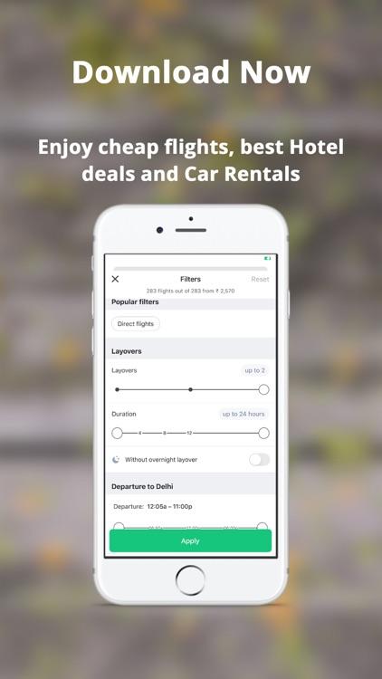 Sasta - Cheap Flights & Hotels screenshot-4