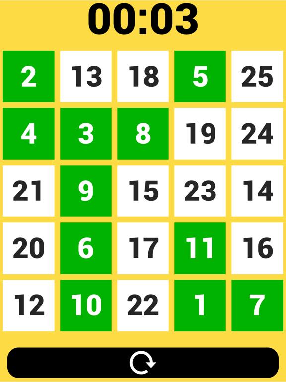 25の数ゲームのおすすめ画像2