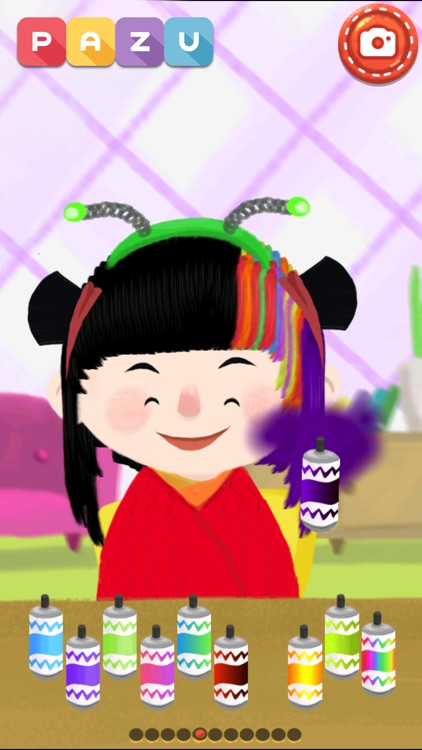 Hair salon games for toddlers