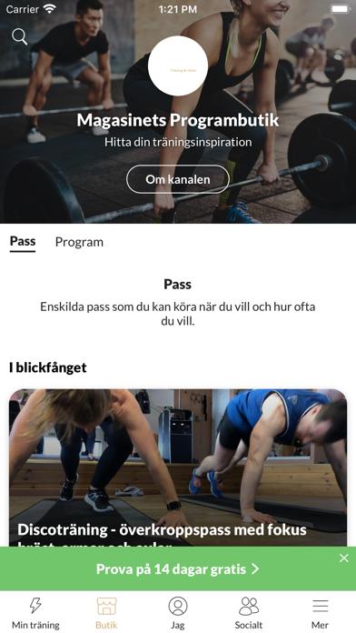点击获取Magasinet Träning & Hälsa