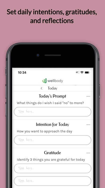 Wellbody screenshot-3